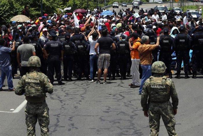México cede ante presión de EEUU: Represión, criminalización y militarización en la frontera sur