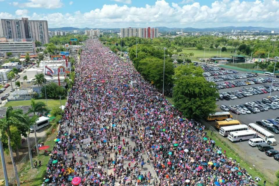 Puerto Rico: renuncia el Gobernador Ricardo Rosselló pero la crisis sigue
