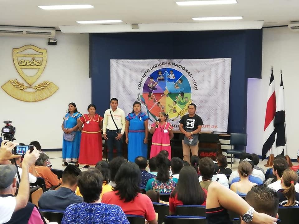 Congreso Indígena en Costa Rica para la defensa de la tierra y la autonomía