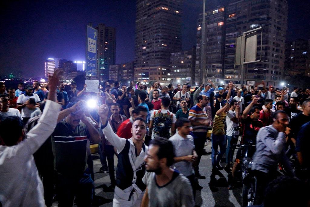 Estallan protestas en Egipto contra el gobierno militar de Abdelfatah Al-Sisi