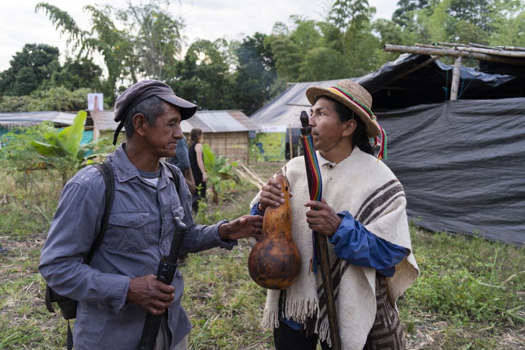 Voces del pueblo Nasa que está liberando la tierra del monocultivo de la caña