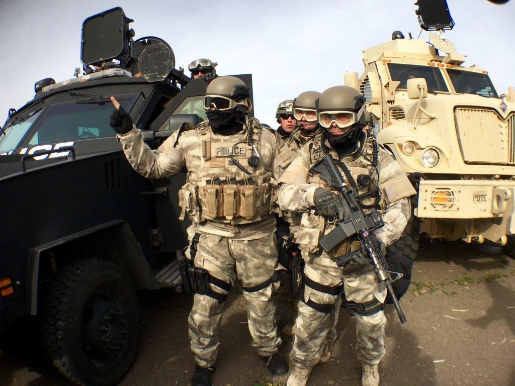 Standing Rock, represión y apoyo a los presos
