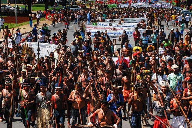 Brasil: Indígenas Munduruku dicen estar listos para resistir a la guerra de despojo