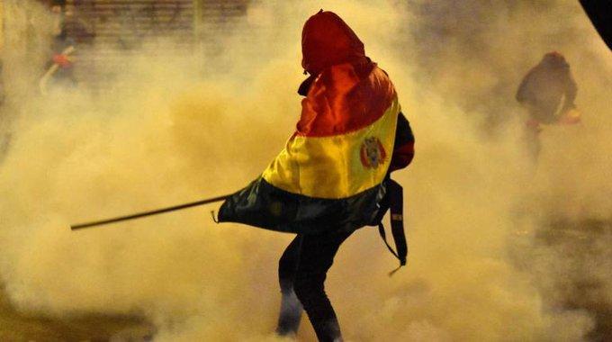 Siguen las protestas en Bolivia por sospechas de fraude electoral