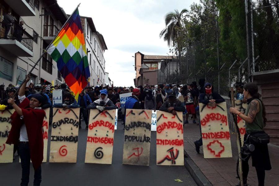 Las fuertes movilizaciones indígenas de Ecuador tiran el decreto 883
