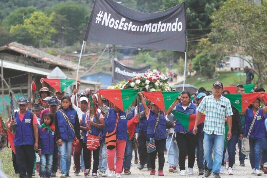 Colombia: Cinco comuneros Nasa son asesinados, entre ellos una  gobernadora indígena