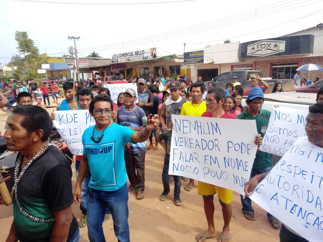 Pueblo Munduruku exige freno a la minería en territorios indigenas en Brasil