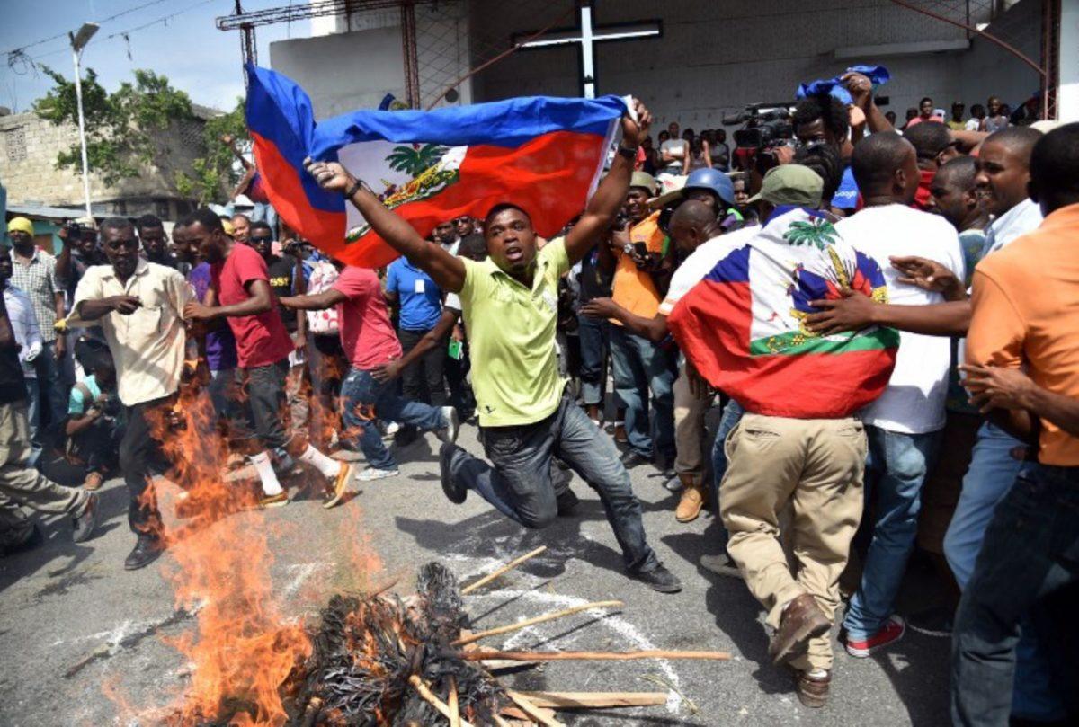 """Rebelión en Haití: """"Lo que estamos viviendo es una crisis del capitalismo y del imperialismo estadounidense"""""""