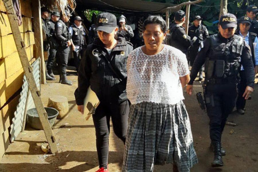 Guatemala: criminalizan a una lideresa Maya Q'eqchi por el reclamo histórico de la tierra