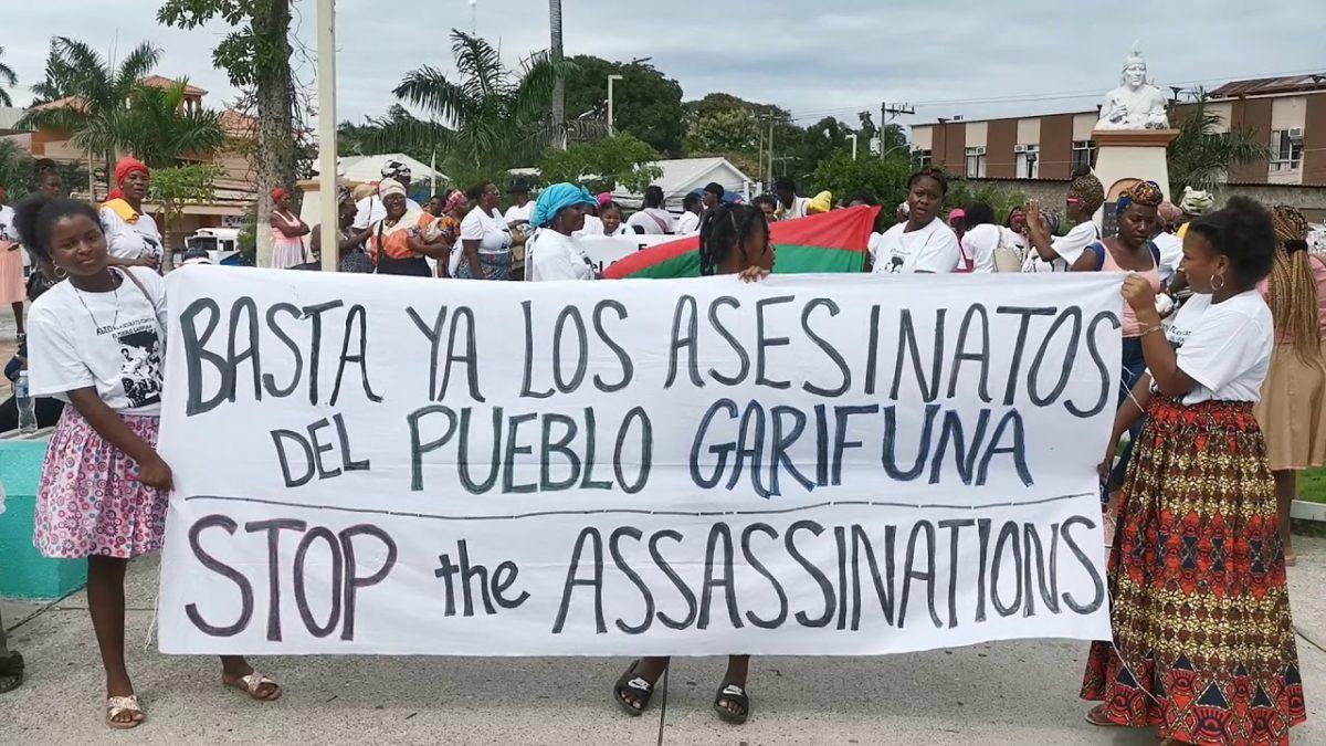 En Honduras, pueblo Garífuna exige un alto al exterminio